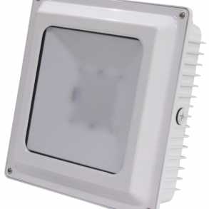 Canopy Lights 75 Watts White Surface Mount 5000K