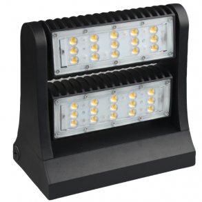 Rotatable Wall Pack Light 80 Watts 5000K