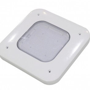 Canopy Lights 130 Watts 480V White Surface Mount 4000K
