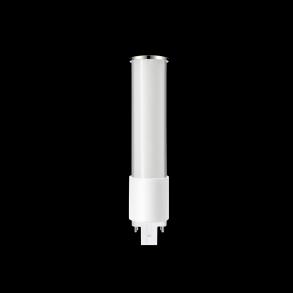 Plug-In LED Lamp Horizontal Mount 8 Watts 2Pin Base 5000K