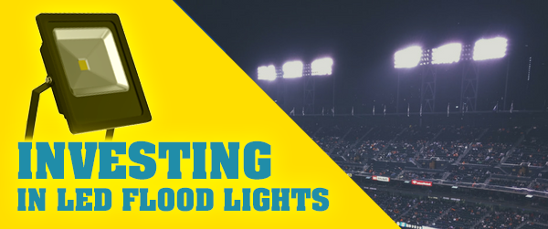 Why Should you Invest in LED Floodlighting?